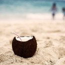 yes thats a rum filled coconut