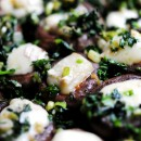 brie stuffed mushrooms