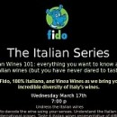 Italian Wine Series POSTER