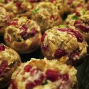 Cherry Sausage Stuffed Mushrooms FI
