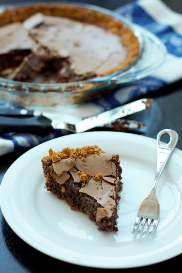 Chocolate Chess Pie with Coconut Graham Cracker Crust – Eat. Drink ...