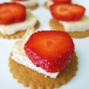Brie Strawberry Ginger Crisps