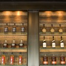 WK whiskey wall