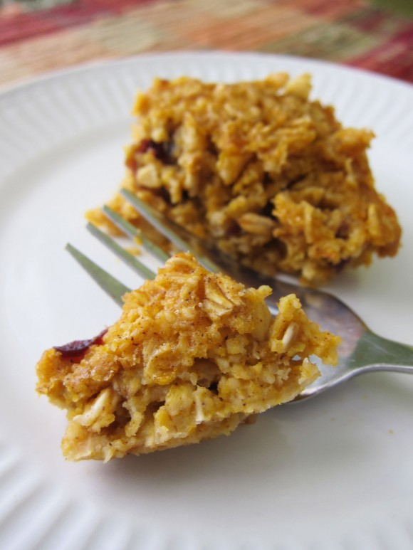 Baked Pumpkin Cranberry Oatmeal ….or Blueberry, Apple ...