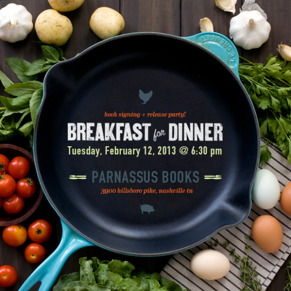 breakfast for dinner parnassus
