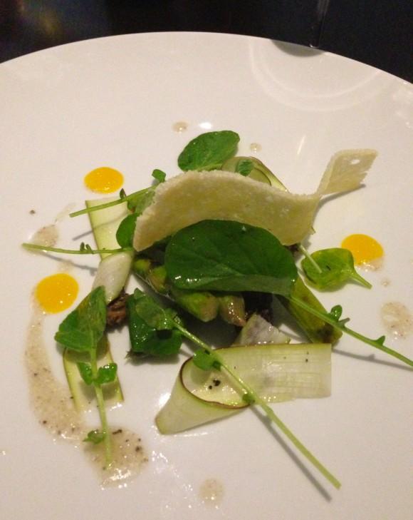 Acadia-asparagus
