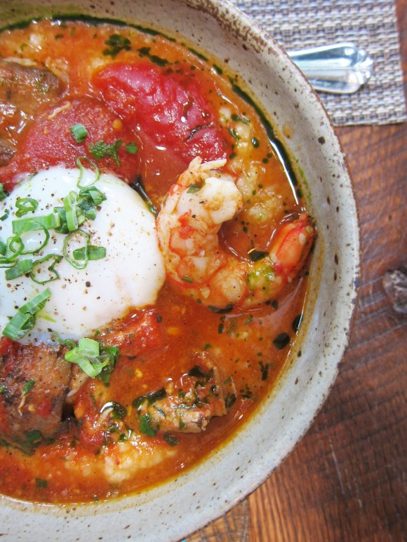 Husk-Nashville-Shrimp-n-Grits-w-Tomato-Broth-Egg