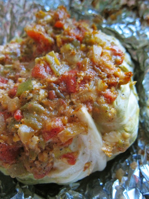 Smoked-Stuffed-Cabbage