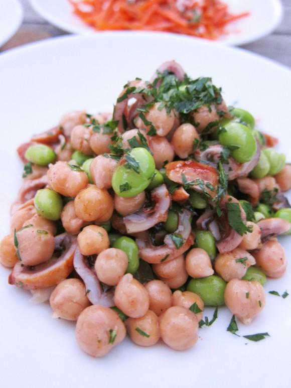 Baby-Octopus-Salad-w-Chickpeas-Edamame-Olio-St-Louis