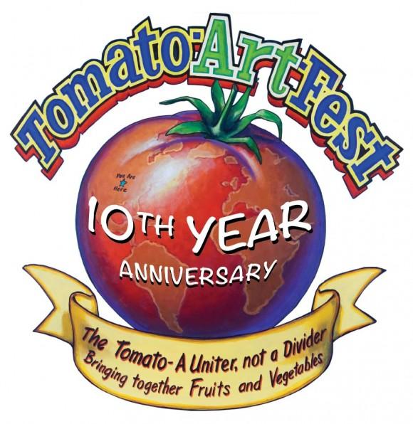 tomato art fest 2013 tomato