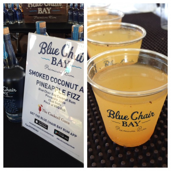 blue chair bay s smoked coconut and pineapple fizz at music city
