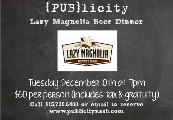 LM Beer Dinner Invite