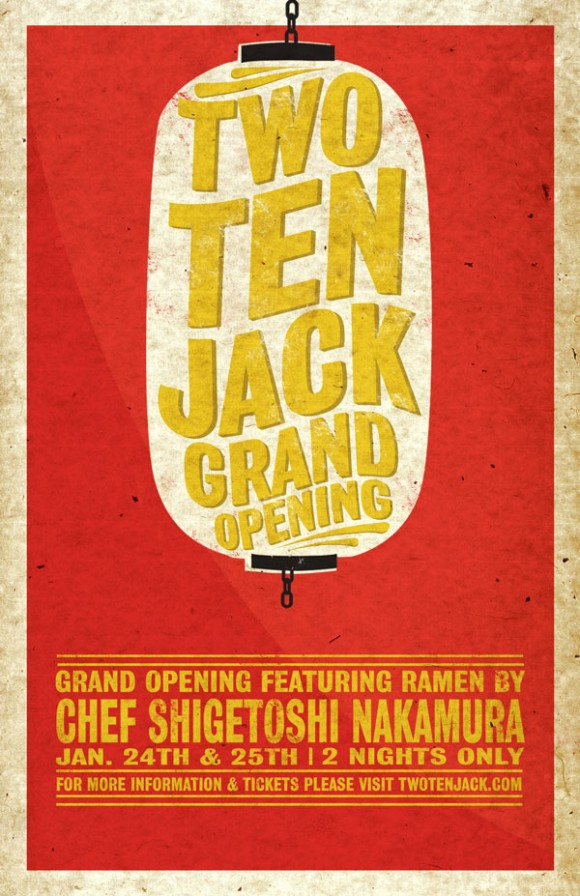 two ten jack grand opening