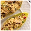 Curried-chicken-salad-on-endive