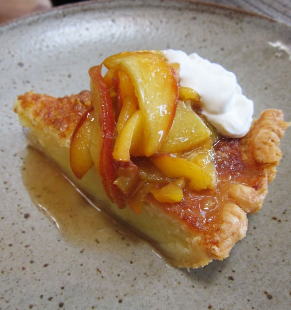 Husk-Nashville-Buttermilk-Pie-w-Peaches-BSachan2013