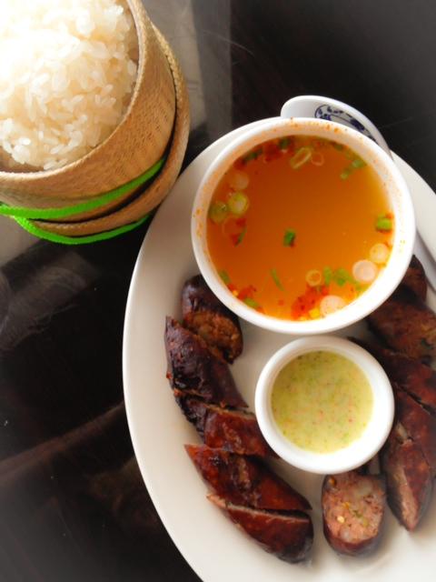 Thai-Esane-Sausage
