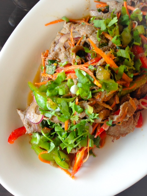 Thai-Esane-Tiger-Tear-Salad