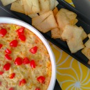 Hot Parmesan and Artichoke Dip with Tomatoes