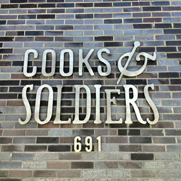 cooks-soldiers-signage