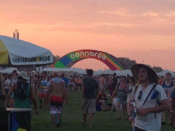 Bonnaroo-Arch-Sunset