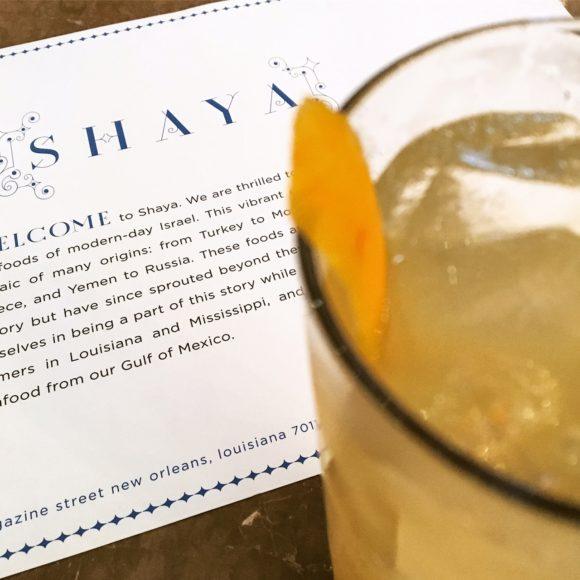 Shaya-welcome-drink